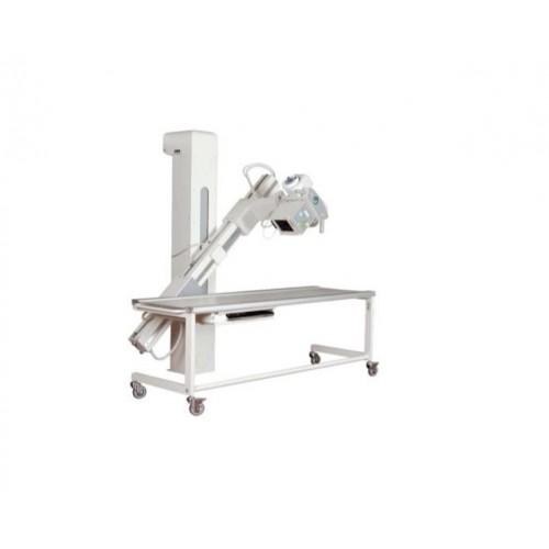 Рентгендіагностичний комплекс на 2 робочих місця POLISTAT M з фіксованим плоскопанельним детектором 43х43 см, робочою станцією для отримання, збереження та обробки цифрових рентгенівських зображень