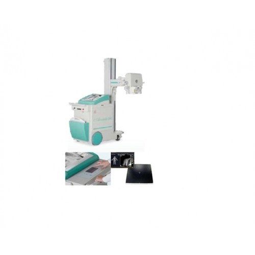 Моторизованний цифровий палатний рентгенографічний апарат ACCORD DR з безпровідним плоскопанельним детектором 35х43 см, вмонтованою робочою станцією з сенсорним керуванням
