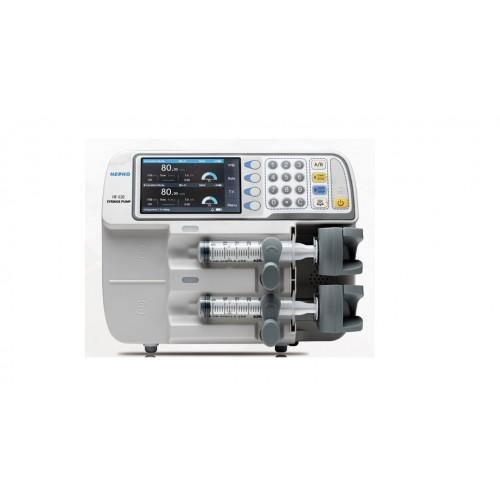 Двоканальний шприцевий насос HF-620