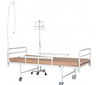 Ліжко медичне функціональне + штатив під крапельницю Recovery
