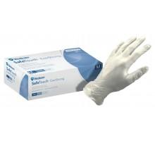 Вінілові рукавички непудровані нестерильні, розмір L (100 шт / уп.)