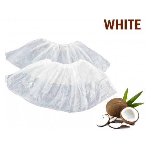 Бахіли одноразові 100 шт / уп, 3,5 г білі поліетиленові