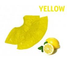 Бахіли одноразові 100 шт / уп, 3,5 г жовті поліетиленові