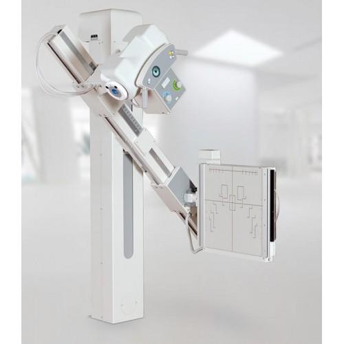 Рентгендіагностичний комплекс на 2 робочих місця POLISTAT M з CR системою цифрового перетворення рентгенівських знімків
